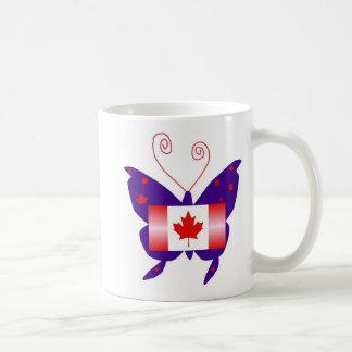 Canadian Diva Butterfly Mug