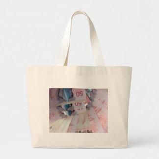 Canadian Dollars Tote Bag