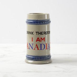 Canadian Drinker Beer Mug