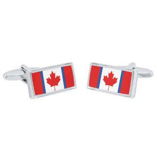 Canadian Duality Flag Cufflinks