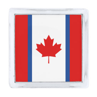 Canadian Duality Flag Lapel Pin