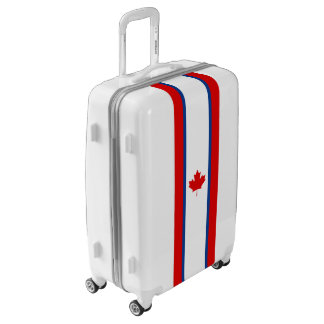 Canadian Duality Flag Luggage (Medium)