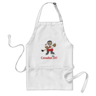 Canadian Eh? Adult Apron