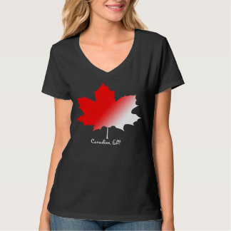 Canadian, Eh Maple Leaf T-shirt