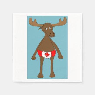 Canadian, Eh? Moose Napkin