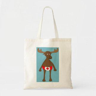 Canadian, Eh? Moose Tote Bag