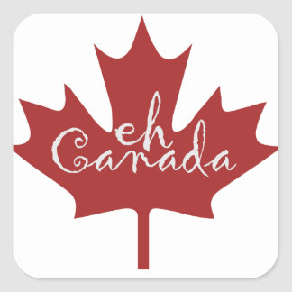 Canadian Eh Square Sticker
