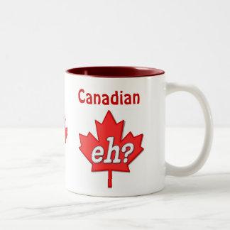 Canadian Eh? Two-Tone Coffee Mug