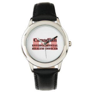 Canadian Environmental Health Officer Wristwatch