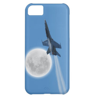 Canadian F-18 Hornet Jet Fighter Action Photo iPhone 5C Cases