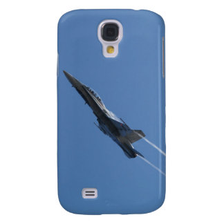 Canadian F-18 Hornet Jet Fighter Action Photo Galaxy S4 Cases