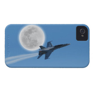 Canadian F-18 Hornet Jet Fighter Action Photo iPhone 4 Case-Mate Case