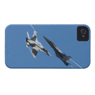 Canadian F-18 Hornet Jet Fighter Action Photo iPhone 4 Cover