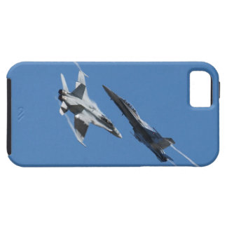 Canadian F-18 Hornet Jet Fighter Action Photo iPhone SE/5/5s Case