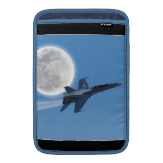 Canadian F-18 Hornet Jet Fighter Action Photo MacBook Sleeve