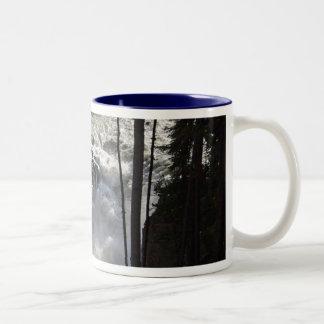 Canadian Falls Two-Tone Coffee Mug