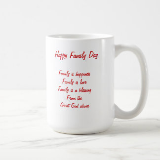 Canadian family Day Mugs