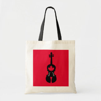 Canadian Fiddle Tote Bag