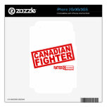 Canadian Fighter Decal For iPhone 2G