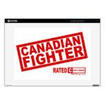 "Canadian Fighter Skin For 15"" Laptop"