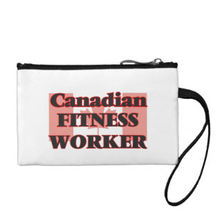 Canadian Fitness Worker Coin Wallet