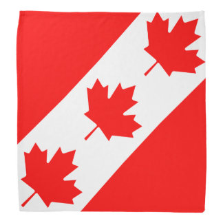 Canadian flag bandana | Canada Day maple leaf