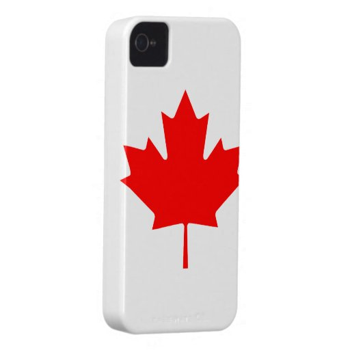 Canadian Flag Barely There iPhone 4/4S Case Case-Mate iPhone 4 Case
