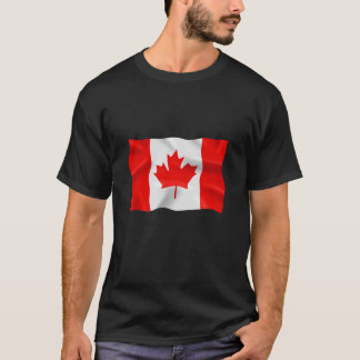 Canadian Flag - Basic Dark T-Shirt