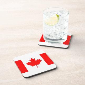 Canadian Flag Beverage Coaster