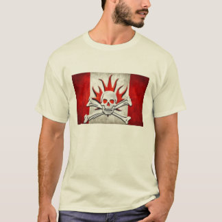 Canadian Flag Bones T-Shirt