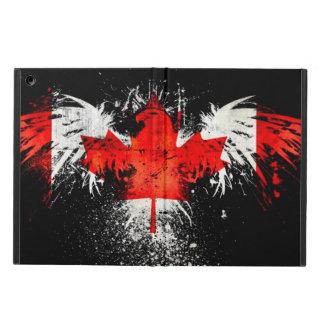 Canadian Flag Burn iPad Air Covers