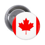 Canadian Flag Buttons