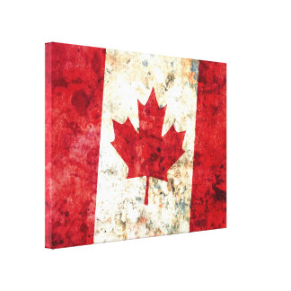 Canadian Flag Canvas Prints