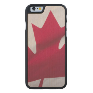 Canadian Flag. Carved Maple iPhone 6 Slim Case