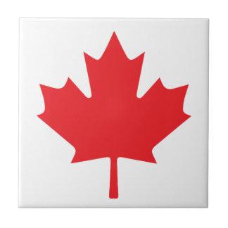 Canadian Flag Ceramic Tile