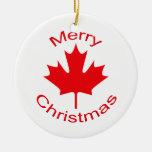 Canadian Flag Christmas Tree Ornament