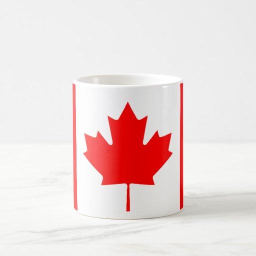 Canadian Flag Coffee Mugs