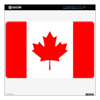 Canadian Flag Computer Skin MacBook Skins