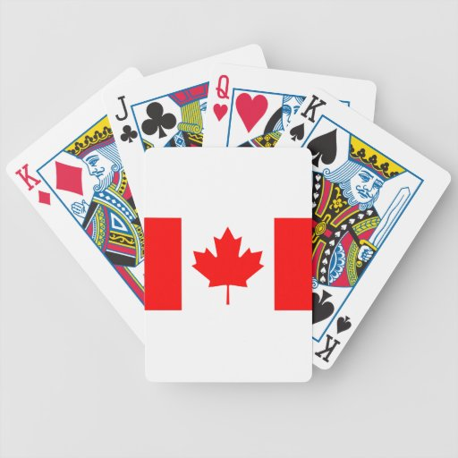 Canadian Flag Deck Of Cards
