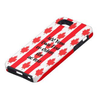 Canadian Flag Design Case iPhone 5 Cases