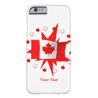 Canadian Flag Design Barely There iPhone 6 Case