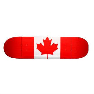 Canadian Flag Design Skateboard
