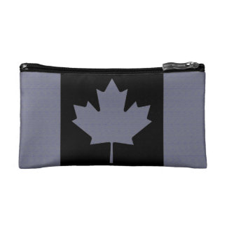 Canadian Flag double-sided Makeup Bag