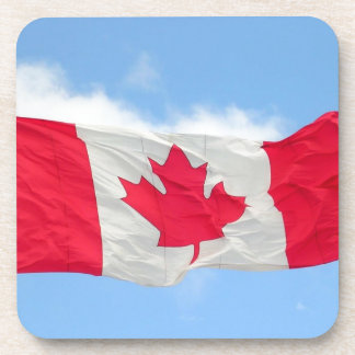 Canadian Flag Drink Coaster