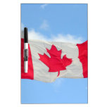 Canadian Flag Dry-Erase Boards