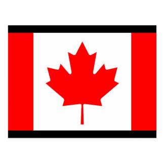 Canadian Flag / Emblem Postcard