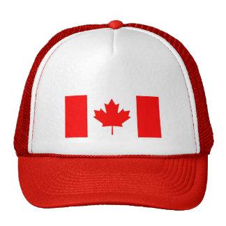 Canadian Flag / Emblem Trucker Hat