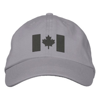 Canadian Flag Embroidery Cap