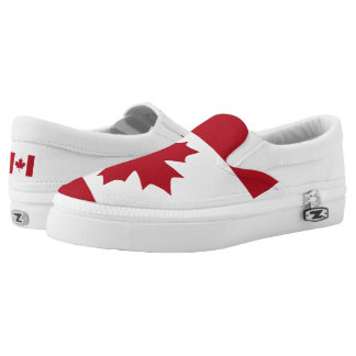 Canadian Flag Flag -.png Printed Shoes
