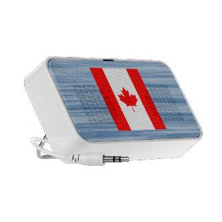 Canadian Flag Floating on water Mp3 Speaker